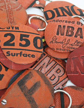 Sleutelhanger 'basketbal'