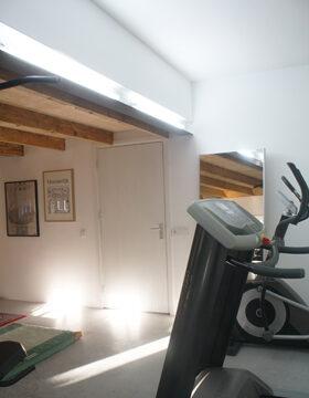 biljart-/fitnessruimte