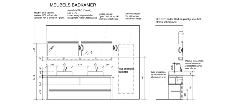keuken/badkamer