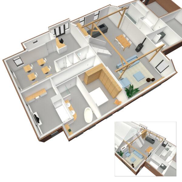 Concept plan woonboerderij: wonen & werken